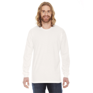 American Apparel Unisex Fine Jersey Long-Sleeve T-Shirt